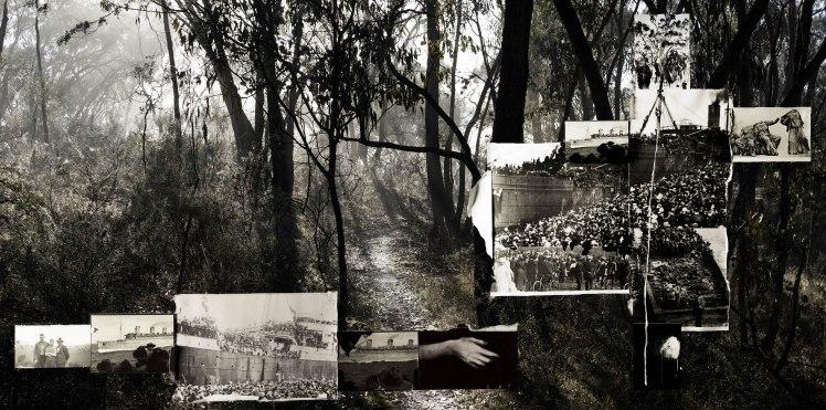 Lyndell Brown/Charles Green, Morning Star, 2018, digital print on rag paper, framed.